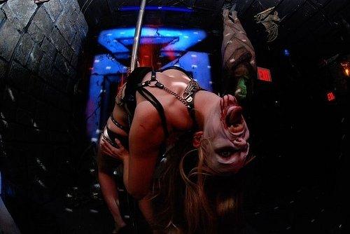Pole Dancing Vampire.