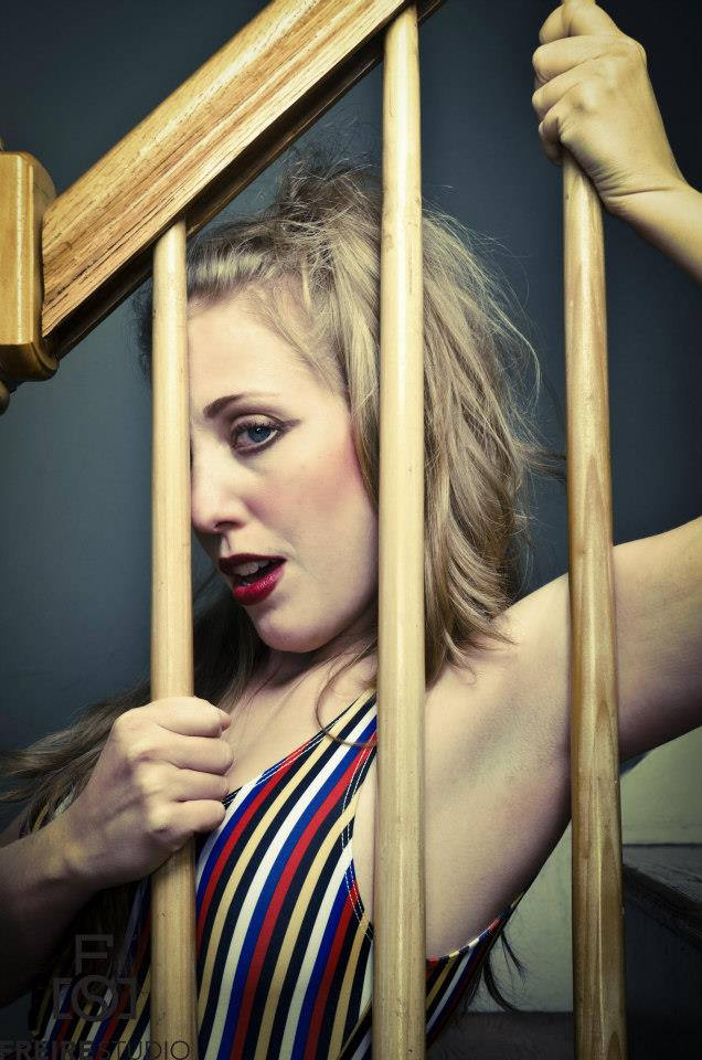 Desire in a Cage. Fantasies of a suburban house wife. Photo by George Freire.